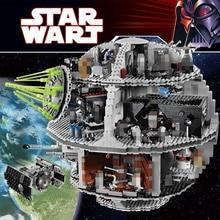 3803 UNIDS Star Wars UCS Death Star Set Compatible LegoINGlys Inteligentes Bloques de Construcción Para Niños Bloques de Construcción de Juguetes Para Los Niños