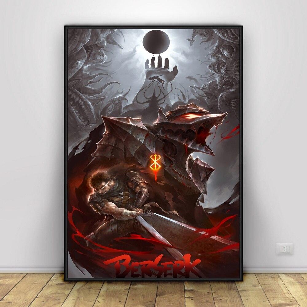 Berserk Gut Japan Hot Anime Print Art Silk Wall Poster 13x20 32x48 inches