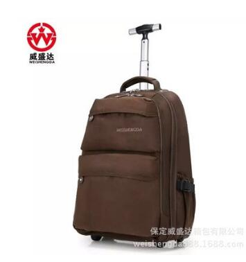 Men Oxford Travel Luggage wheeled Rolling Backpacks women Trolley bags Business Travel backpack bag luggage suitcase on wheels travel luggage trolley backpacks on wheels men business travel trolley bags oxford rolling baggage backpack bag travel mochila