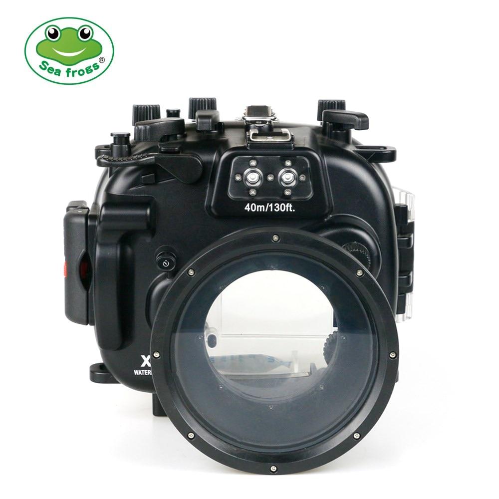 Pour appareil photo Fujifilm X-T1 boîtier étanche plongée sous-marine 40 m boîtier étanche + stabilisateur d'appareil photo