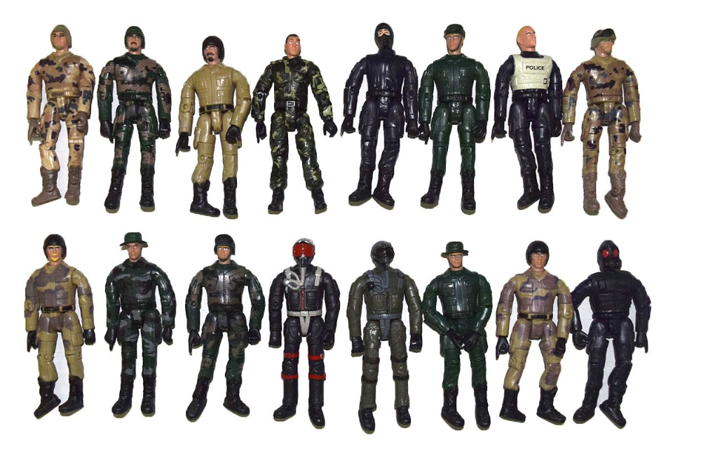 """Lot 10 Random M/&C World Peacekeeper Military Soldier Special Force 3.75/"""" Figure"""