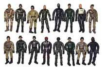 """Lot 10 Random M&C World Peacekeeper Military Soldier Special Force 3.75"""" Loose Action Figure"""