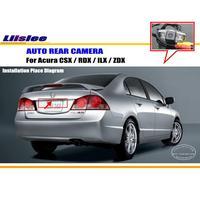 Liislee Auto Achteruitrijcamera Voor Acura CSX/RDX/ILX/ZDX/Reverse Camera/HD CCD RCA NTST PAL/Kentekenverlichting OEM