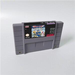 Image 1 - Dragon Quest I & II ou Dragon Quest III V VI Dragon View carte de jeu RPG Version américaine économie de batterie en langue anglaise