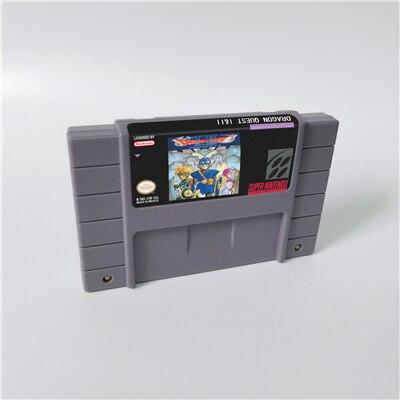 Dragon Quest I & II ou Dragon Quest III V VI Dragon View carte de jeu RPG Version américaine économie de batterie en langue anglaise
