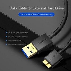 Image 3 - ORICO Micro B zu Typ EIN Kabel USB 3,0 Schnelle Transmiss Sync Kabel SSD/HDDExternal Festplatte festplatte Externe Draht für Samsung S5