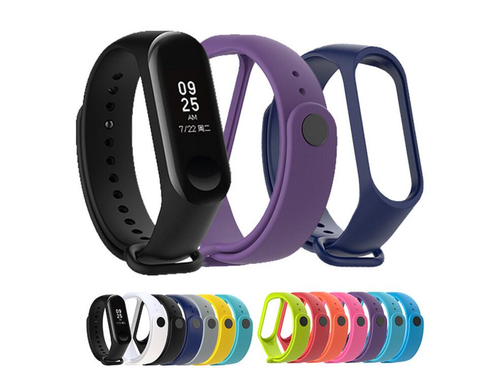 2018 MiBand 3 Silicone Wrist Strap Bracelet Color Replacement watchband for Original Xiaomi Mi band 3 Wristbands belt Rubber miband 2 silicone wrist strap bracelet double color replacement watchband for original xiaomi mi band 2 wristbands belt rubber