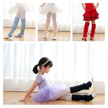 2a6a30f2b Girls Dancing Socks Kids Ballet Latin Dance Bow Knee High Socks Knitting  Daily Wear Walking Autumn Winter Spring Children Hot