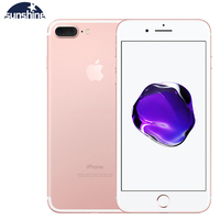 Original Unlocked Apple iPhone 7 Plus Fingerprint 4G Cellphone 5.5'' 12.0MP LTE Mobile phone 3G RAM 32G/128G/256G ROM Quad core