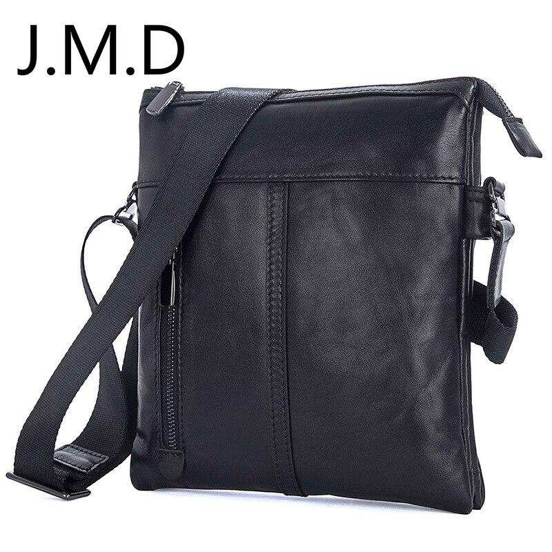 J.M.D 2019 New Genuine Leather Casual Shoulder Messenger Bags Handbags 1023(China)
