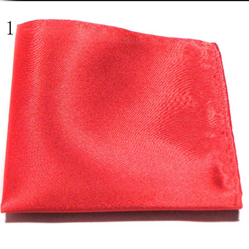 新メンズスーツポケットタオル小スクエア結婚式パーティー DressPajamasPure 色ハンカチ黒赤青緑黄紫