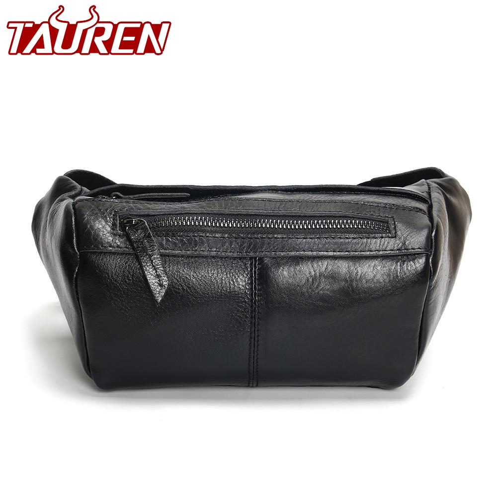 Fashion Men Waist Bag Casual Pu Leather Chain Shoulder Bags Zipper Chest Waist Bags Travel Chest Bag Fanny Waist Pack цена
