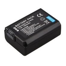 7.4V 1500mAh NP-FW50 NP FW50 Rechargeable Li-Ion Battery For Sony Alpha 7 a7 7R a7R 7S a7S a3000 a5000 a6000 NEX-5N 5C A55
