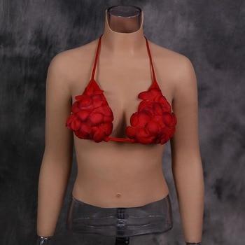 Dokier Silicone Breast Forms Realistic Fake Boobs tits Enhancer Crossdresser Drag Queen Shemale Transgender Crossdressing Sissy