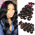 Brazilian Body Wave 4 Bundles Rosa Hair Products Wet And Wavy Weave Human Hair 8A Annabelle Hair Company Body Wave Virgin Hair
