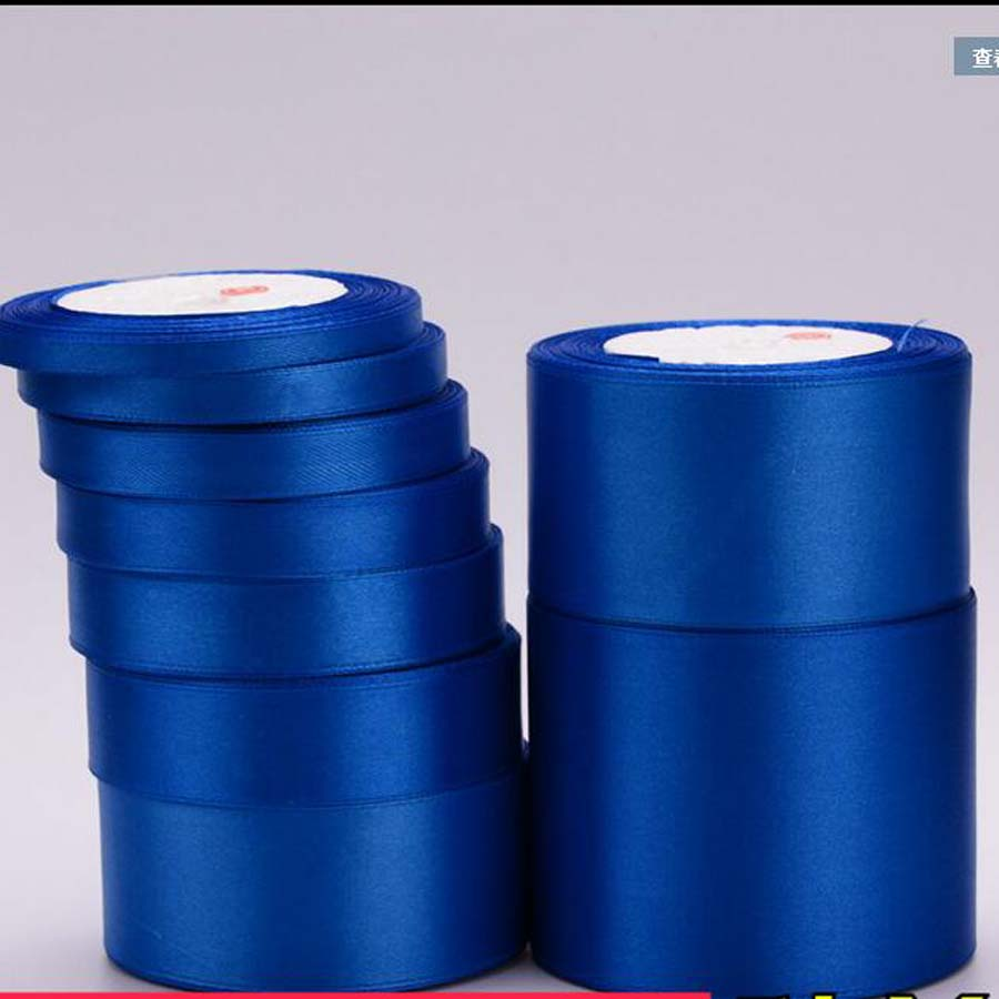 Royal Blue polyester tape ribbon 12mm wide