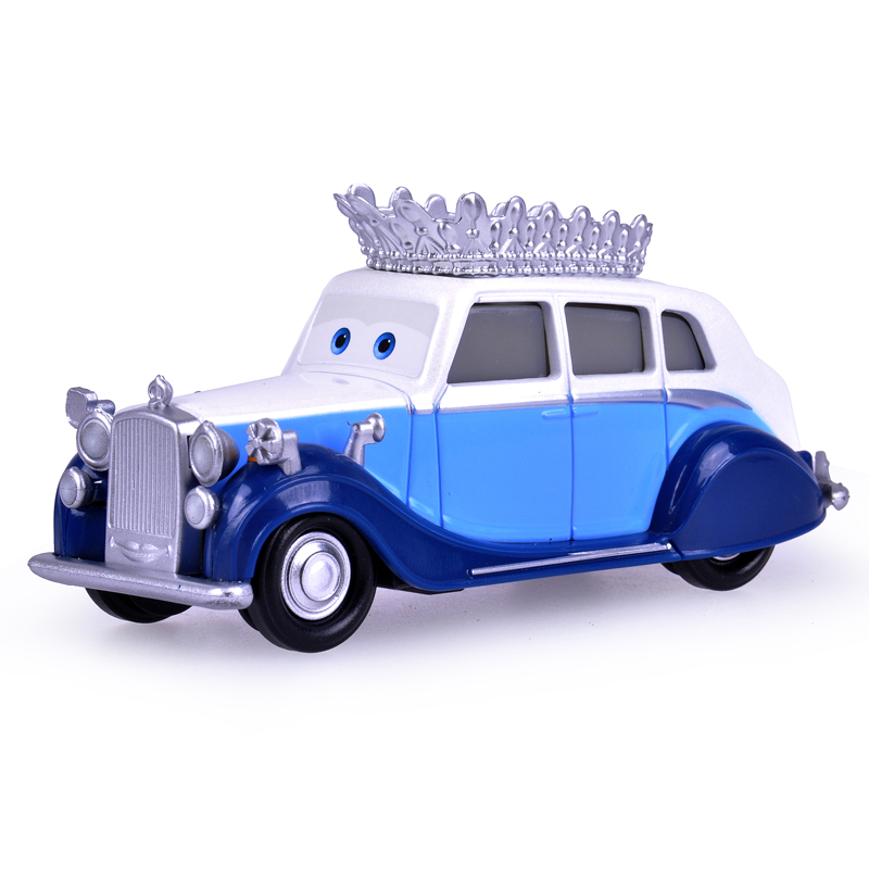 100% Original Pixar Cars The Queen Diecast Metal Cute Toy Car For Children Gift 1:55 Loose Brand New In Stock Lightning McQueen disney pixar cars frank and tractor diecast toy car for children gifts 1 55 loose alloy modle brand new in stock