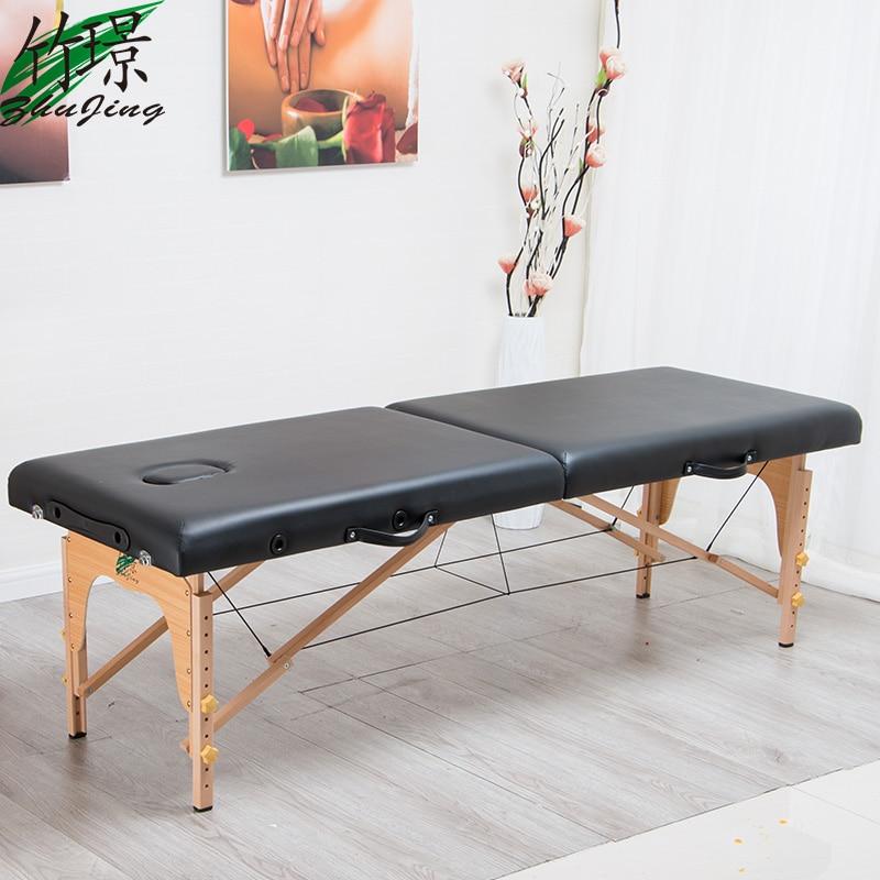 Strumenti di massaggio di cura del corpo attrezzature pieghevole massaggi letto casa di bellezza del tatuaggio fisioterapia massaggio letto