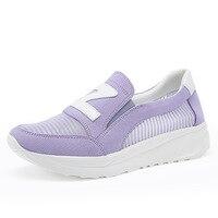 Lona do desenhista Mulheres Luz Tênis Altura Crescente Mulheres Sports Shoes Shoes Plataforma Saúde Perder Peso Tênis Ao Ar Livre