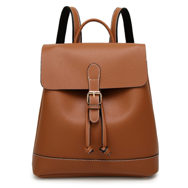 faux leather backpack women 2017 new design gray girls school bags ...