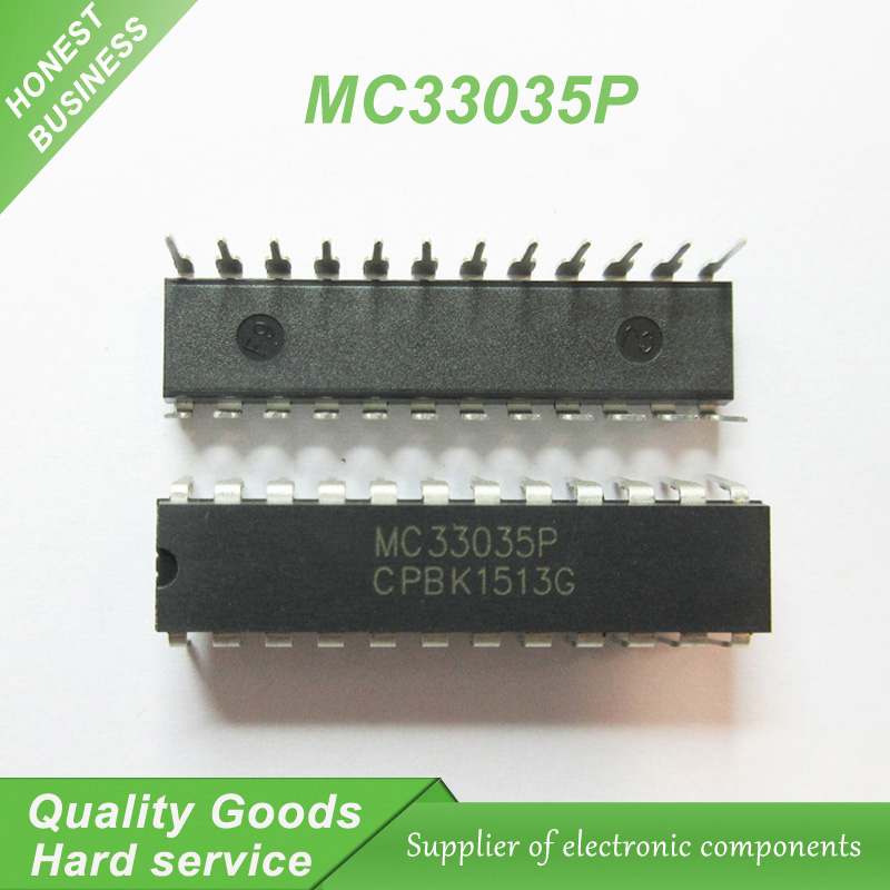 5PCS free shipping MC33035P MC33035 DIP-24 brushless <font><b>DC</b></font> motor control <font><b>100</b></font>% new original quality assurance image