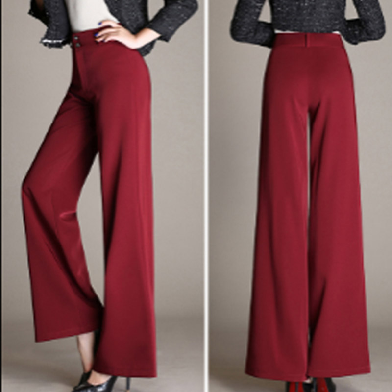 Latin Dance Pants For Women Trousers Wide Legs Pant Tango Cha Ballroom Dancing Clothes Woman Practice Performance Wear DNV10102