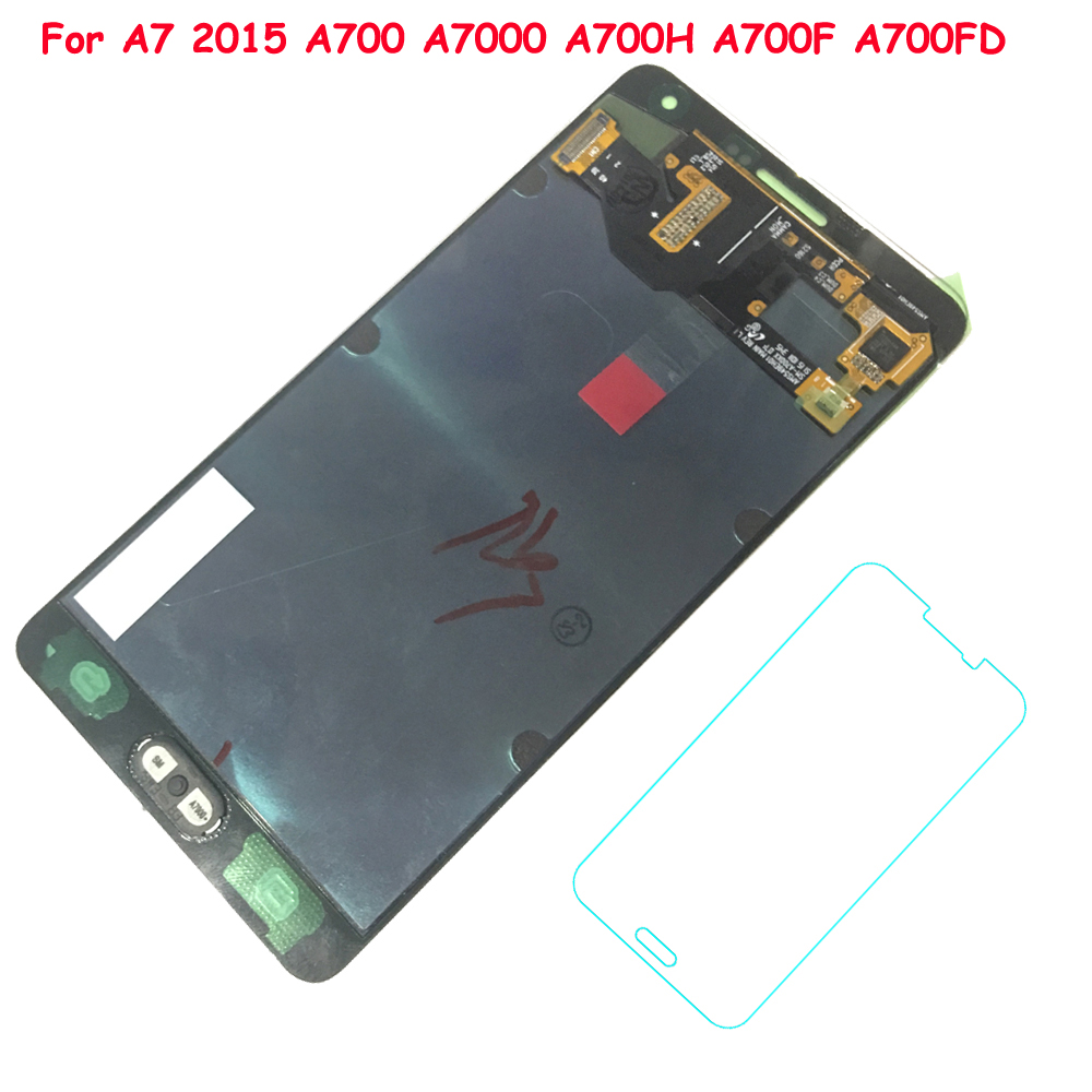 FIX2SAILING 100% Tested Working AMOLED LCD Display Touch Screen Assembly For Samsung Galaxy A7 2015 A700 A7000 A700H A700F A700FFIX2SAILING 100% Tested Working AMOLED LCD Display Touch Screen Assembly For Samsung Galaxy A7 2015 A700 A7000 A700H A700F A700F