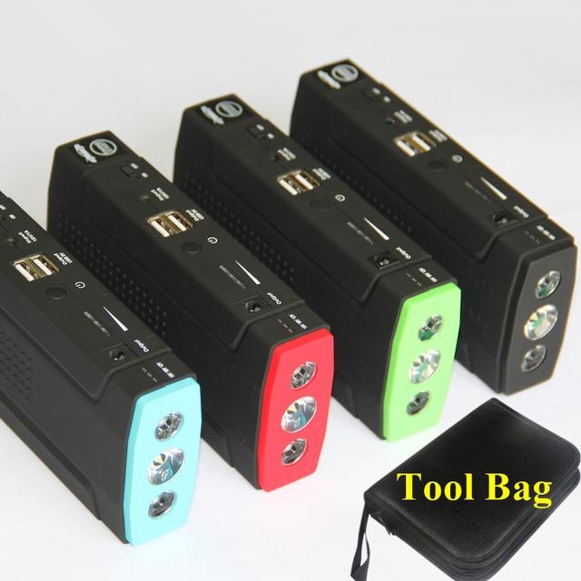 Best Seller Upgraded Multi-Function Car Starter Jumper 12V Portable USB Power Bank Start Engine Emergency LED Free Ship