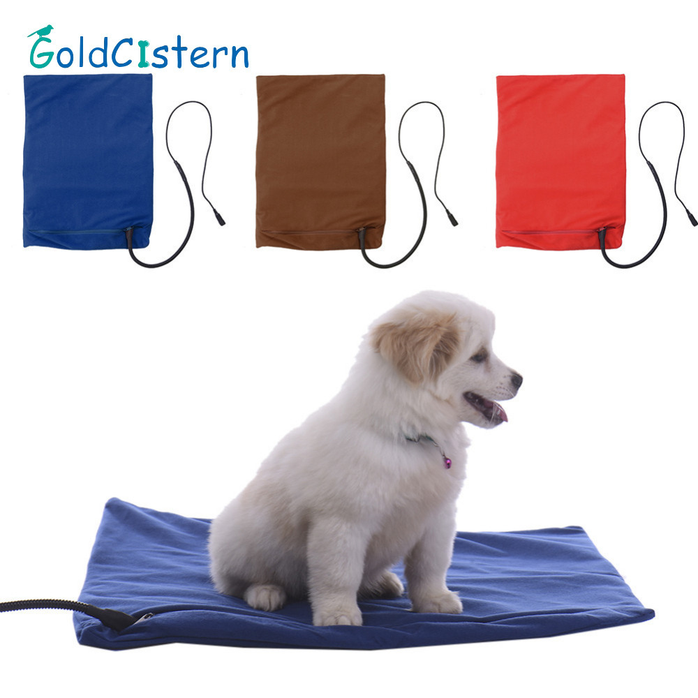 Pet Dog Cat Winter Warm Sleeping Mats Blanket Automatic Constant  Temperature Heating Pad 12W Safety Puppy