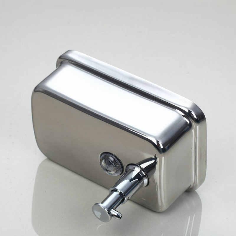 JIENI wykończone ze stali nierdzewnej mydło w płynie dozownik do kuchni i Bathrooom ręcznie dozownik cieczy pudełko