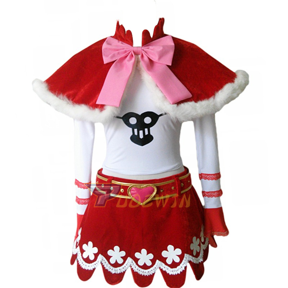 Anime One Piece Perona Princess Mononoke Cosplay Costume 6 lot