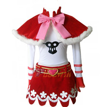 Anime One Piece Perona Princess Mononoke Cosplay Costume 6/l
