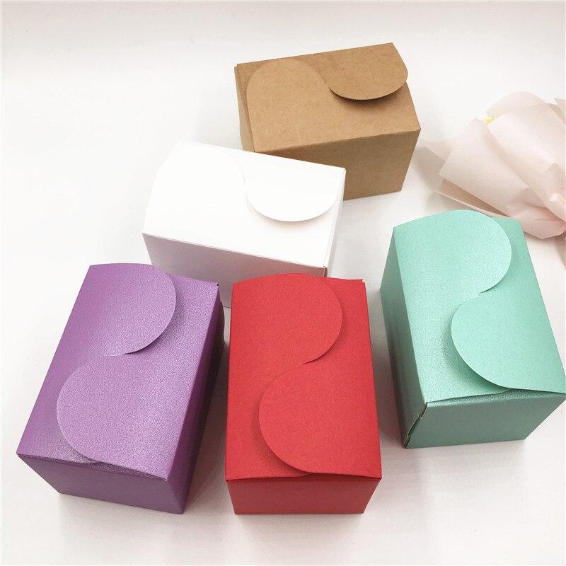 10 Stücke Souvenir Geschenk Boxen Kleine Karton Papier Geschenk Box Verpackung Event & Valentinstag Partei Liefert 9*6*6 Cm RegelmäßIges TeegeträNk Verbessert Ihre Gesundheit