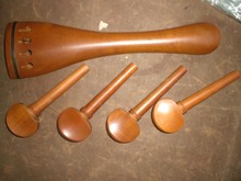 Jujube Cello fitting, jujube cello accessories 4/4 size with pegs and tail piece