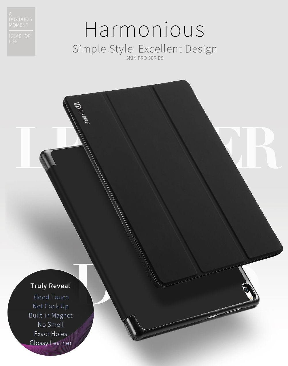 DUX DUCIS Smart Case for Lenovo Tab 4 10 Flip Shockproof Stand Smart Solid Cover for Lenovo Tab 4 10