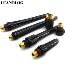 6pcs TIG Welding Machine Accessories Torch Head Long Mid Short Back Cap