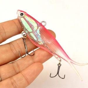 Image 3 - WLDSLURE דיג פתיונות 95mm 20g רך Vibe פתיונות רך פלסטיק לנענע ראש פיתיון