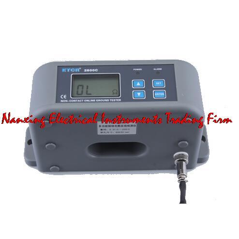 Testeur en ligne de résistance sans Contact multifonction ETCR2800C 0.01OHMS-200OHMS avec écran LCD et voyant d'alarme