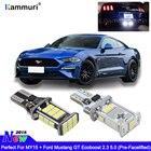 KAMMURI W16W T15 LED Bulbs Fits 2015-2018 FORD Mustang GT Bright White Xenon T15 LED Globe Backup Reverse Light