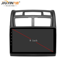 цена на JIUYIN 9inch Car radio for KIA Sportage 2007 2008 2009 2010 2011 2012 2013 2014 2015 car dvd player navigation car multimedia