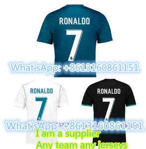 9792abb70f3 AAA 2017 HOT SALES EUR 2018 TOP football jerseys QUALIT SHORT REALED  MADRIDED ADULT SOCCER JERSEY 17 18 HOME AWAY 3RD MEN SHIRT