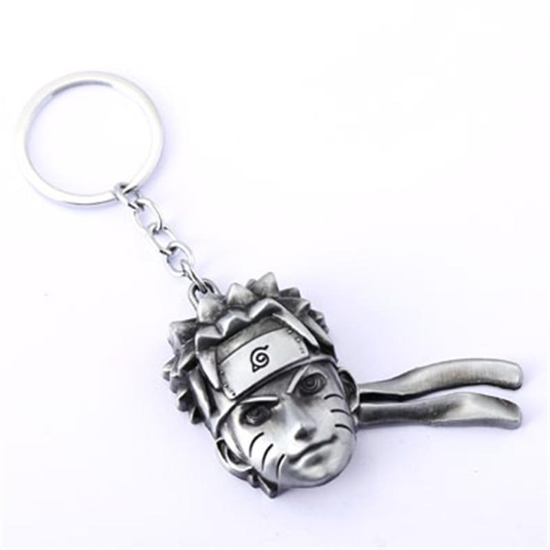 NARUTO Key Chain Ninja Key Rings For Chaveiro Car Keychain Anime Key Holder Souvenir