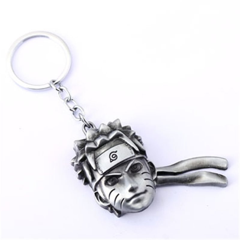 NARUTO Key Chain Ninja Key Rings For Gift Chaveiro Car Keychain Jewelry Anime Key Holder Souvenir YS11097