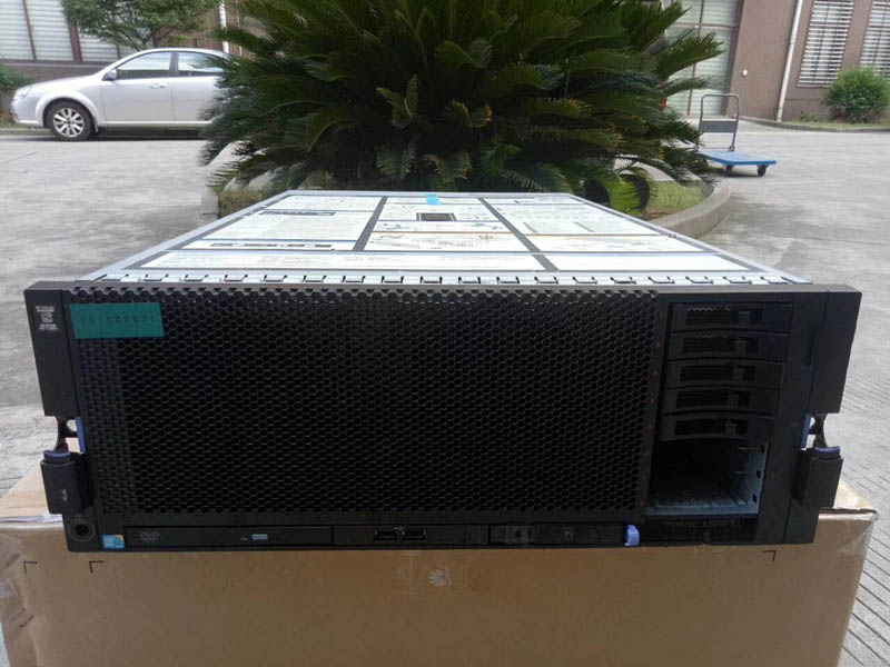 X3850 X5 Used Server 4U Rack-mounted 4 Way 7143 7145 Motherboards Barebone Server