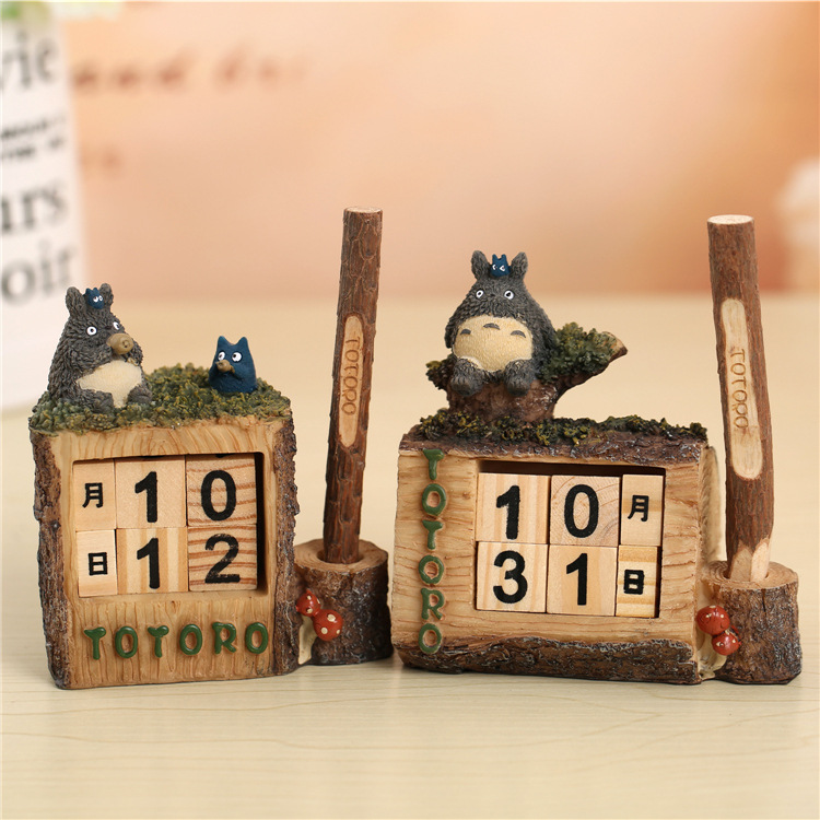 Zakka Miditerranean Sea Wooden Desk Calendar Desktop To Do List Daily Planner Book Office Desk Supplies Standing School Calendar