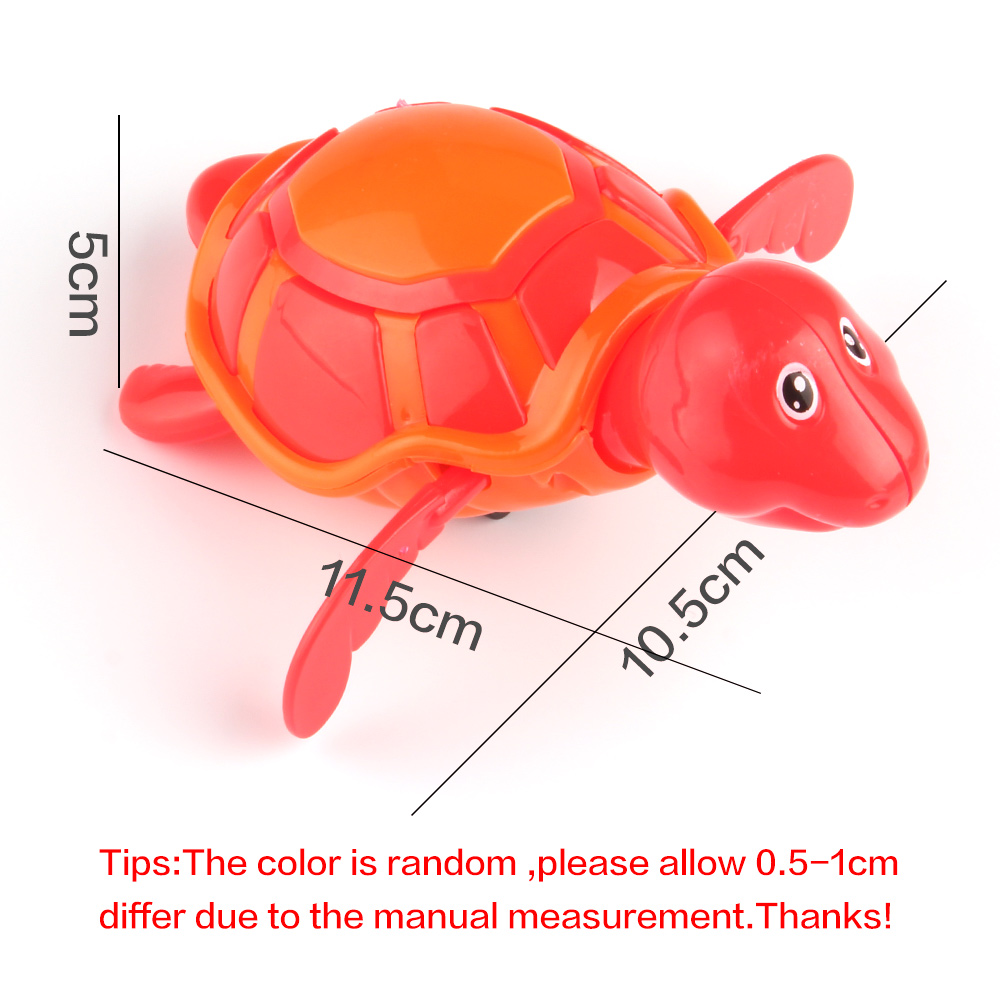 Cute-Cartoon-Animal-Baby-Bath-Toys-Swimming-Turtle-Wound-up-Chain-Clockwork-Kids-Classic-Toy-Children-Gift-Plastic-Toys-5