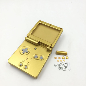 Image 4 - Gold Plastic Housing Shell Case Cover for GBA SP Majoras Mask Limited Edition