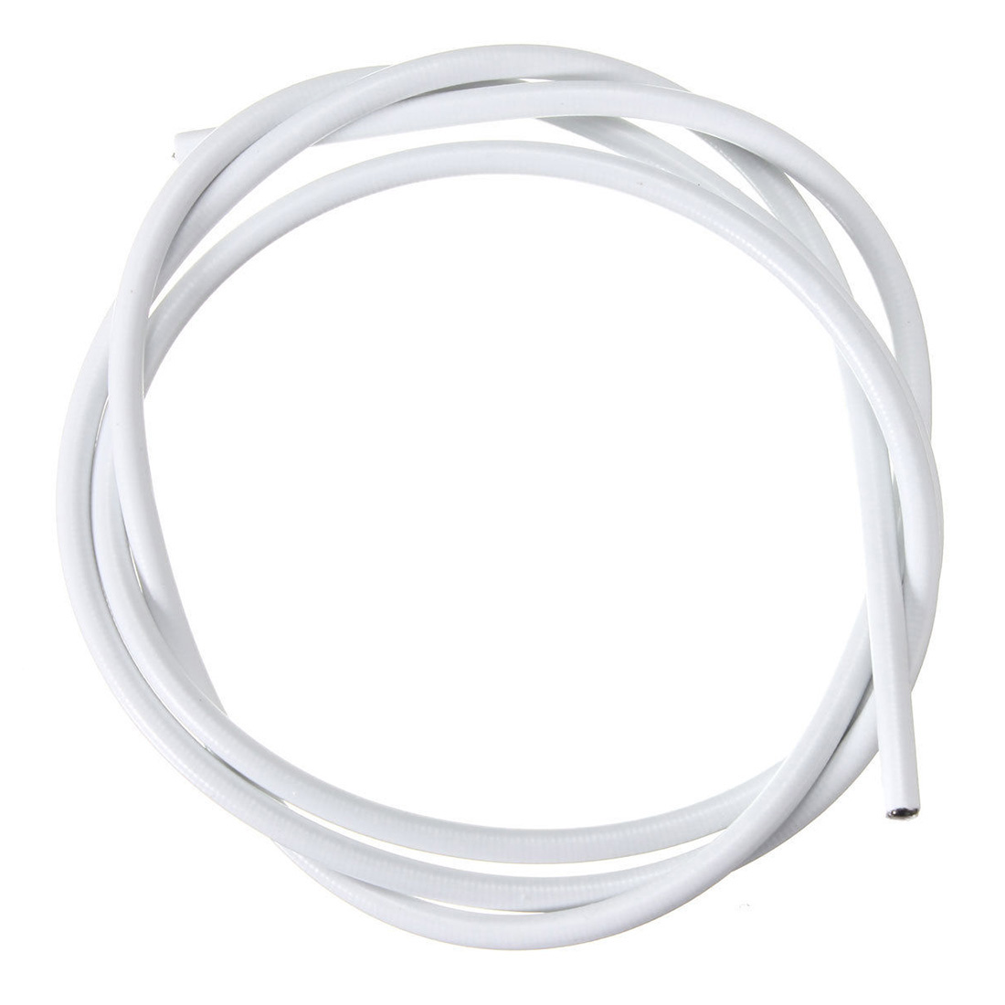 Curtain spring wire - Best 1m Window Net Curtain Wire Spring Cord Cable Kit 2 Pair Hooks Eyes