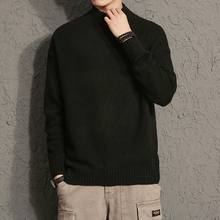 Men's Clothing Casual Sweater Men Turtleneck Pull Homme Mens Sweaters Slim Pullover Men Classic Wool Knitwear Cashmere Sweater цена