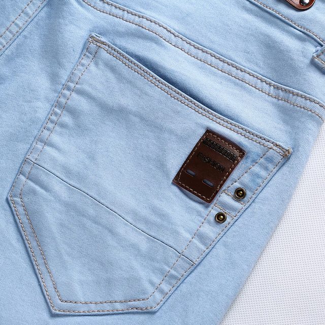 Men's Casual Stretchable Skin Fit Jeans